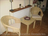 Hallway - Seating Chairs with Side Table