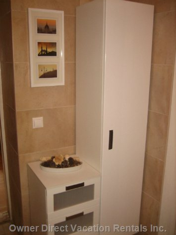 Bathroom Storage Space