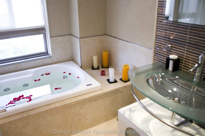 Master Bathroom on Second Level