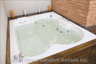 Jacuzzi in Private Terrace