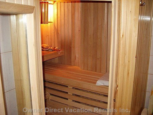 Sauna with Body Spa Cabin