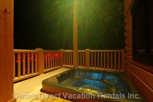 Private Hot Tub - Private Hot Tub on the Deck for your Personal Use