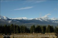 View in the Summer - from the Deer Lodge