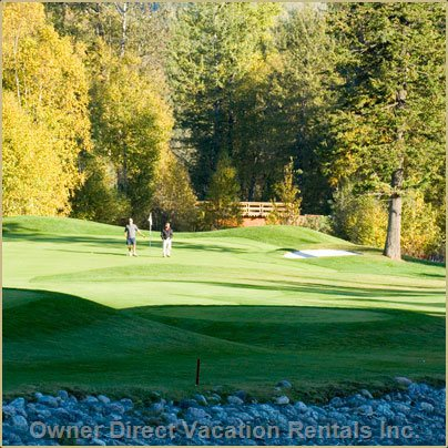 Golden Golf Course - Beautiful Course 20 Minutes Drive Away, Stay and Play Available