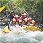 White Water Rafting on Kicking Horse River