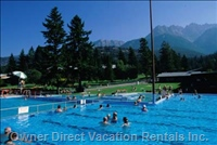 Fairmont Hot Springs - 2 -Outdoor Pools-Diving Board