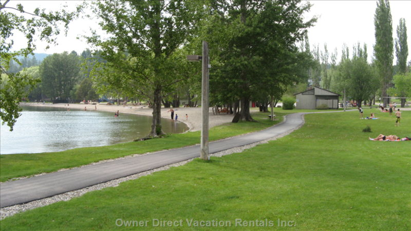 Kinsman Beach with Large Green Space