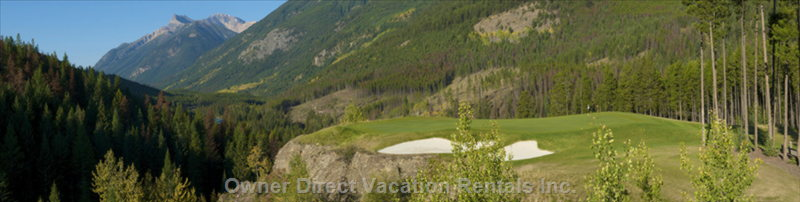 Greywolf Golf Course, #12 Cliffhanger Green