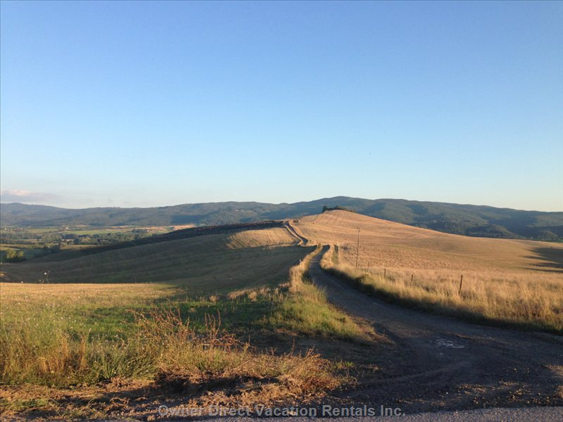 August in Tuscany