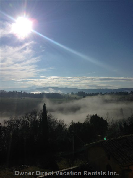 Good Morning Tuscany!