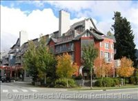 Located in Whistler Village North, Opposite Iga Marketplace.  8-10 Minutes Leisure Walk to the Lift with Lots of Restaurants and Shops.