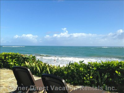 Community Sun Deck in Front of Cabarete Bay Offering Exceptional Views and Privacy