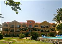 2 Bedroom Beach-Front Penthouse Condo