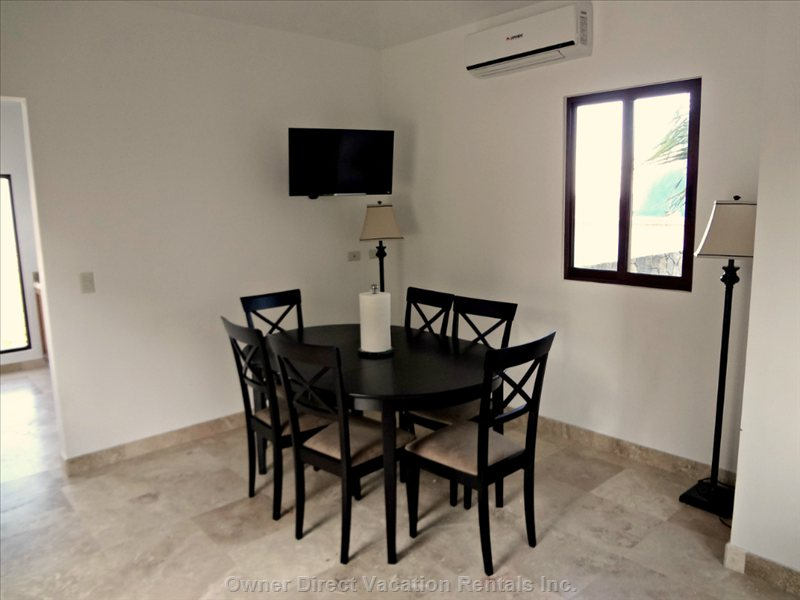 Dining Area for this Section of Home