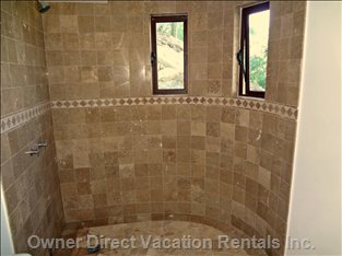 Typical Shower/Bath in each Suite in this Area of Residence
