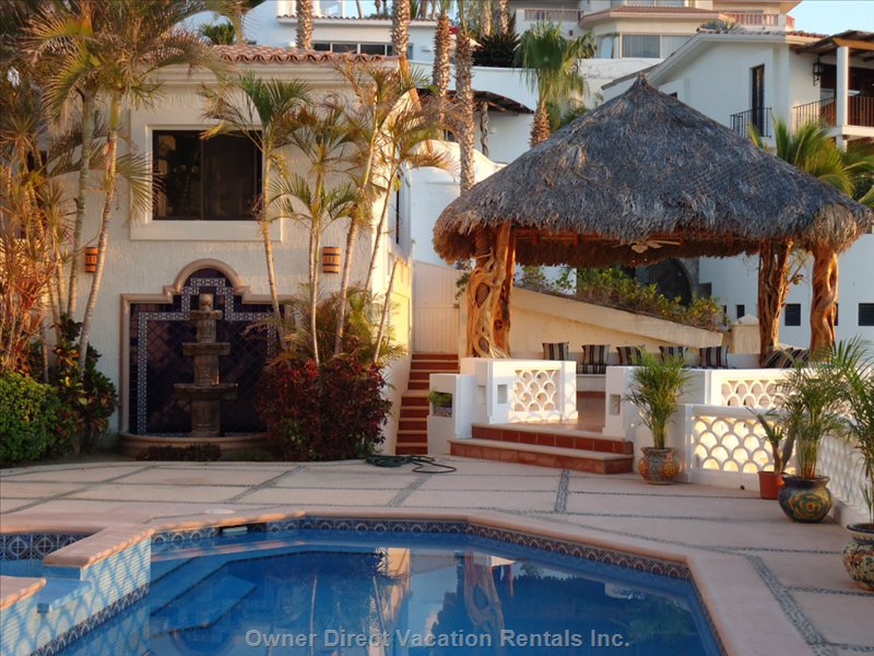 Pool Area and the Palapa