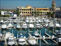 Marina and Puerto Paraiso Shopping Mall with Luxury Avenue Shops