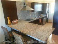 Modern Kitchen with all Amenities and Washer/Dryer