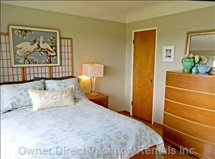 Ocean View Bedroom - has one Full/Double Bed and Vanity Table