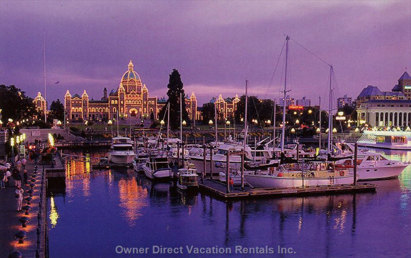 Downtown Victoria, Only 7 Minutes Away.