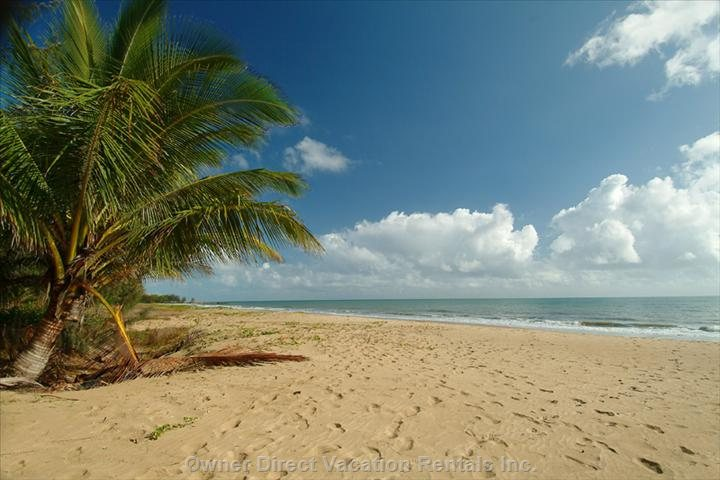 Quiet, Sandy Beach - Excellent Walking Beach