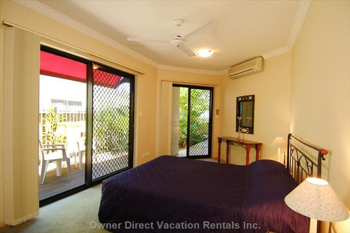 Main Bedroom Overlooks the Beach
