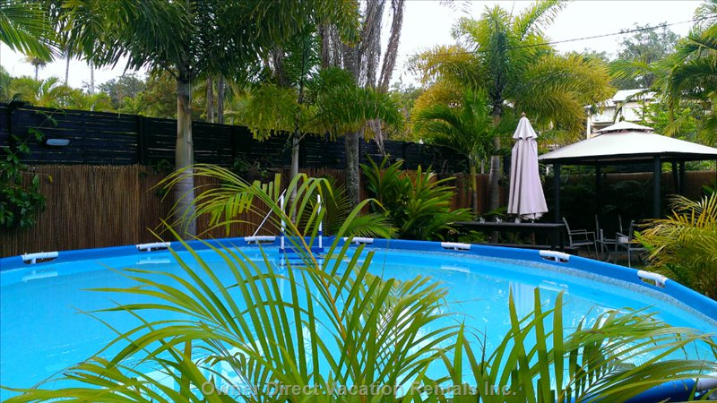 Pool, Bar and Gazebo Areas