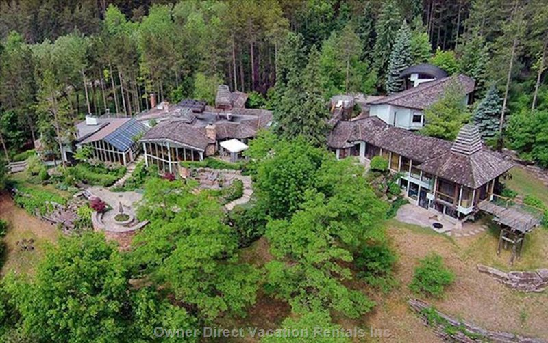 Luxury living space and a breathtaking panoramic view over 25 acres of land, ID#226641