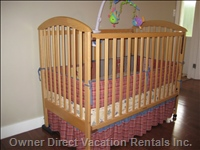 Wood Crib Prepared for your little one!