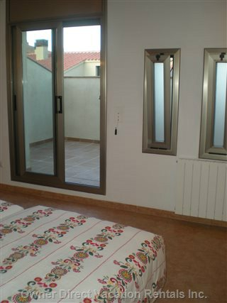 View of Atic Terrace in Bedroom 3.