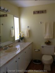 En-Suite Bathroom with Walk in Shower.