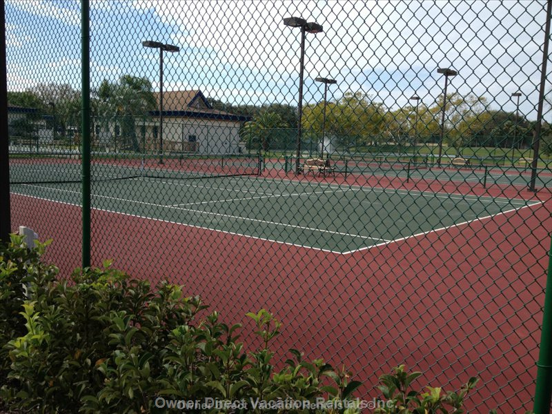 Tennis Courts.