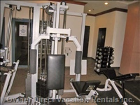 Fitness Room at Alpenglow