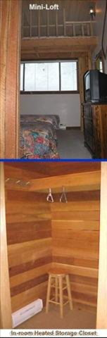 View to Bedroom from Hall; View of Heated Storage Room