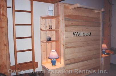 Queen Wall Bed (I.e. Murphy Bed)- Folds against the Wall