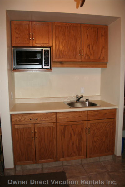 Kitchen Cupboards - Kitchen Cupboards with Convection Oven.