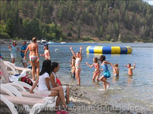 The Annual Beach Party - Fun for all Ages, with Music, Refreshments, Games and much, much More.