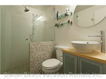 Ensuite Bath with Rain Shower and Heated Floor