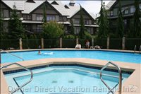 Northstar'S Fabulous Heated Pool and Hot-tub.