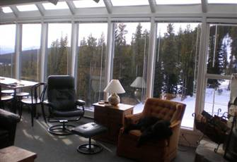 Two bedroom Winter Ridge condo with a great view