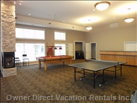 Club House and Games Room - Take in  a Game of Pool Or Ping Pong While Enjoying your Stay at Discovery Bay Resort.