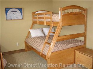 Single over Double Bunk Beds