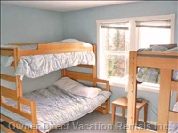 Upstairs Bedroom #3 - Easily Sleeps 4 People