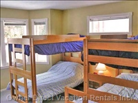 Upstairs Bedroom #4 - Easily Sleeps 4 People