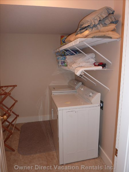 Laundry Room with Washer & Drier