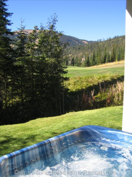 View from Private Hot Tub
