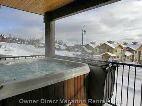 Super Hot Tub on Private Deck with Great Views