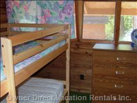2nd Bedroom, Single Bunk Beds