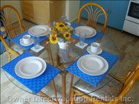 Inviting Dining Table