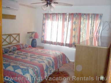 "Master Bedroom "" Nice Quiet a/C in each Room """